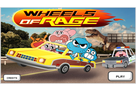 Games Review: The Amazing World of Gumball ''Wheels of ...