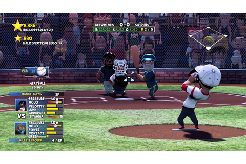Baseball game on XBOX ONE ? 2017 - YouTube