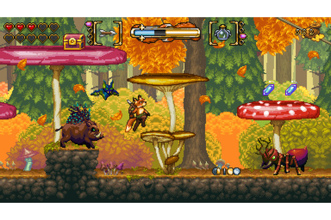 2D action platformer Fox n Forests coming to PS4, Xbox One ...