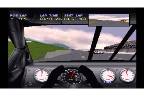 NASCAR 98 (PS1) - YouTube