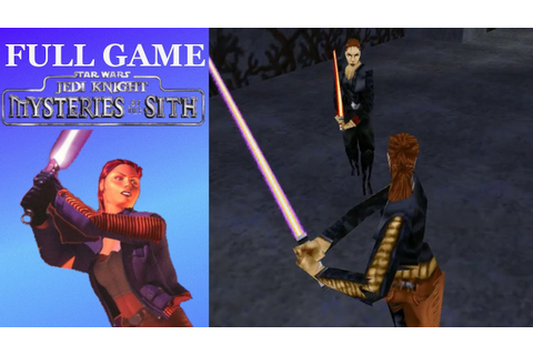 Star Wars: Jedi Knight: Mysteries of the Sith (PC, 1998 ...