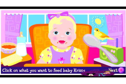 Barbie Games Barbie Baby Krissy Game Barbie Babysitter ...