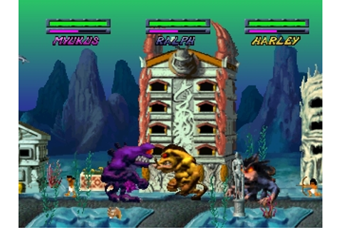 RAMPAGE THROUGH TIME - (NTSC-U)