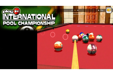 International Pool Championship ... (PS2) - YouTube