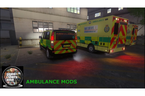 GTA 4 Mods Ambulance mods Sprinter PC Games - YouTube