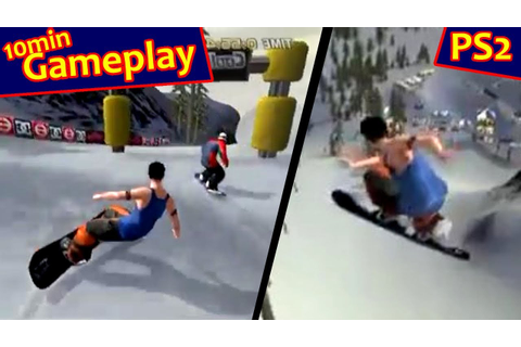 Cool Boarders 2001 ... (PS2) - YouTube