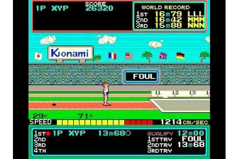 [ARCADE/MAME] Hyper Sports - Longplay / Playthrough (EASY ...