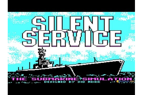 Silent Service gameplay (PC Game, 1985) - YouTube