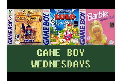 Game Boy Wednesdays #27- Quest RPG: Brian's Journey (#2 ...