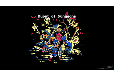 Quest of Dungeons - Game - Nintendo World Report