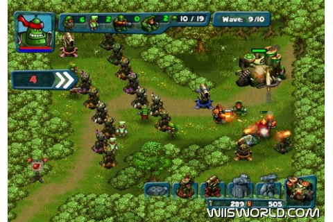 Robocalypse: Beaver Defense on WiiWare