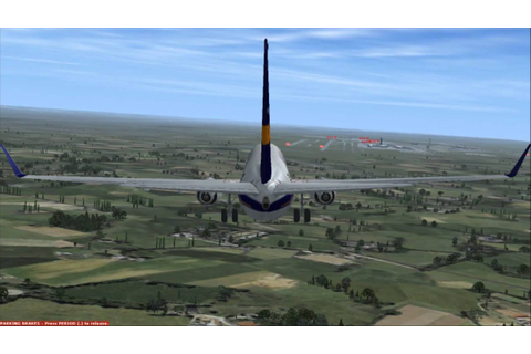 Flight Simulator X Online Gameplay: Landing and Takeoff ...