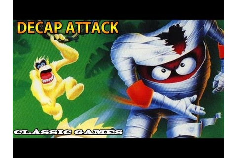 Clássic Games - Decap Attack + 1º Capítulo completo - YouTube