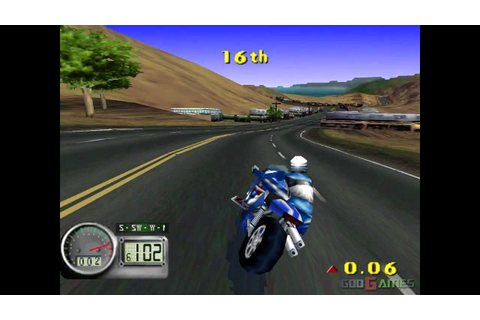 Road Rash 3D - Gameplay PSX (PS One) HD 720P (Playstation ...