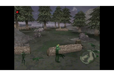Army Men: World War - Land, Sea, Air (PS1): Awful game ...