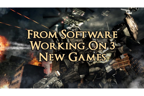 From Software Confirms Work on Armored Core & 2 Other ...