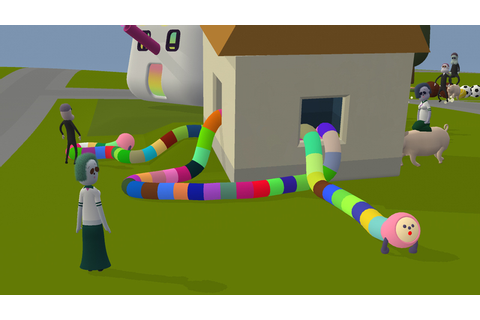 Noby Noby Boy, Katamari Creator's New Game, In Early 2009 ...