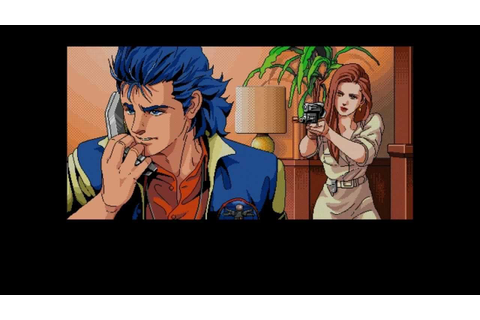 Policenauts : one screen and another... | Policenauts ...