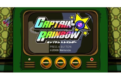 Captain Rainbow (2008) by Skip Wii game