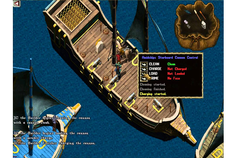 Firing Cannons - High Seas Adventure - Ultima Online - YouTube