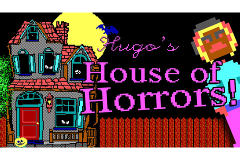 HUGO'S HOUSE OF HORRORS | My first SPOOKY adventure game ...