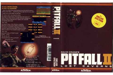Pitfall II: Lost Caverns | Top 80's Games