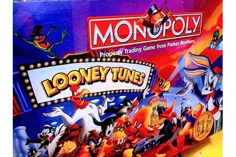 Looney Tunes Monopoly Game Toy Review by Mike Mozart of ...