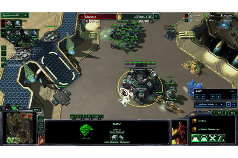 LRG vs Starlord Game 2 Overgrowth TvP - YouTube