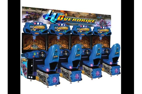 H2OVERDRIVE ARCADE raw thrills weston super mare GRAND ...