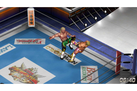 Fire Pro Wrestling World on PS4 | Official PlayStation ...