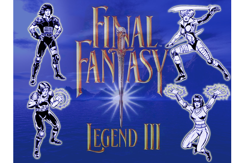 Final Fantasy Legend III Fiche RPG (reviews, previews ...