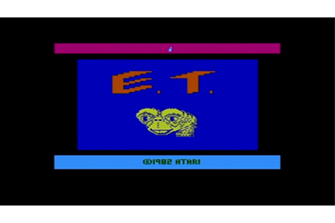 Good Game Stories - Game Review: E.T. the Extra-Terrestrial