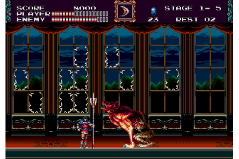Castlevania: The New Generation | Top 80's Games