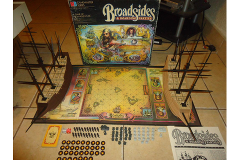 Broadsides & Boarding Parties Milton Bradley Gamemaster ...