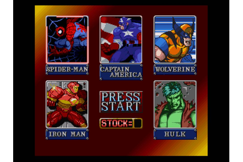 Marvel Super Heroes - War of the Gems (USA) (Beta) ROM