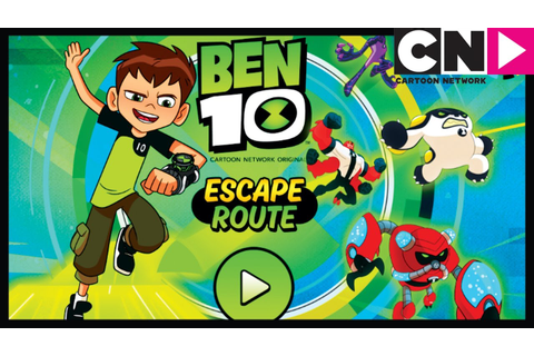 Ben 10 Games | Escape Route App Gameplay | Cartoon Network ...
