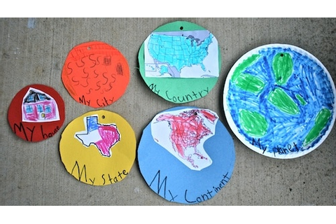 """My Place in the World:"" Kids Geography Project"