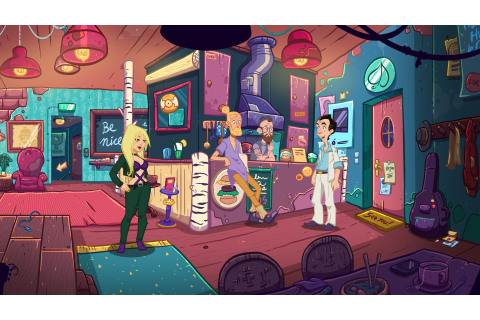 Leisure Suit Larry: Wet Dreams Don't Dry is not as ...