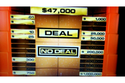 Deal or No Deal DVD Game #1 - YouTube