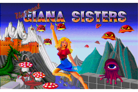 The Great Giana Sisters Screenshots for Amiga - MobyGames