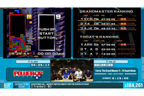 Tetris The Grand Master 2 (Qlex and Sqr) Summer Games Done ...