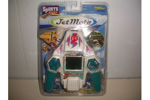 TIGER, ELECTRONIC, JET MOTO SKI, SPORTS FEEL GAMES ...