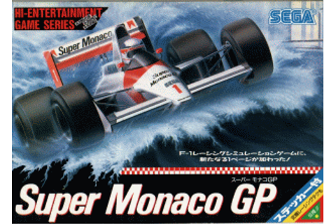 Super Monaco GP - Wikipedia