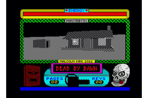 Mal Comix: Dead By Dawn : New Game for the ZX Spectrum!