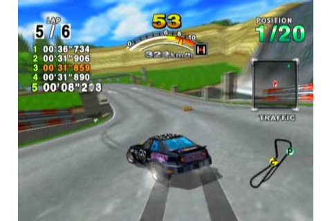 Daytona USA 2001: Rin Rin Rink (3.16 with Unicorn) - YouTube
