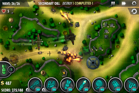 iBomber Defense Pacific - (by Chillingo) - Universal App ...