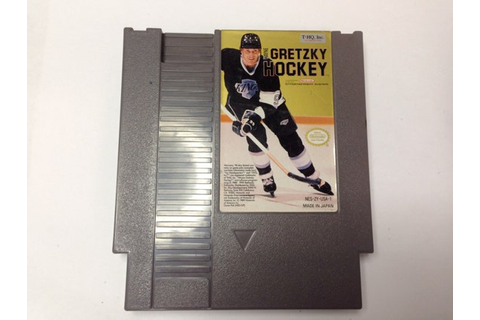 Wayne Gretzky Hockey Nintendo Video Game