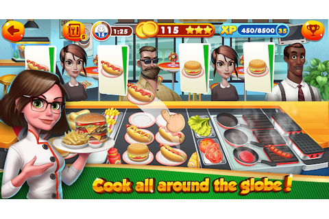 Cooking Games - Food Fever Top Shop Chef Kitchen - Android ...
