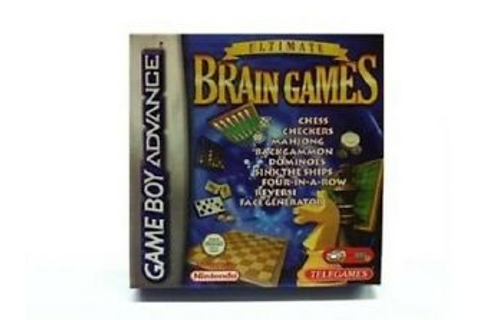 Ultimate Brain Games for Game Boy Advance CHESS CHECKERS ...