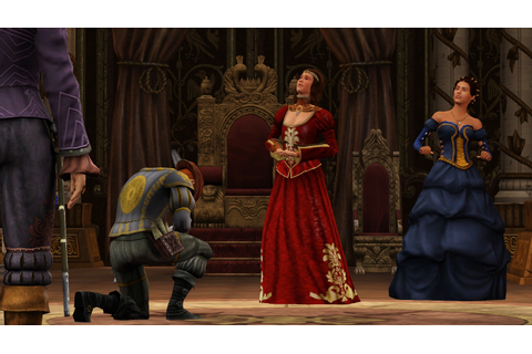 ... Sims Medieval: Pirates and Nobles Launch Images Sims 3 Gamer Sims 3
